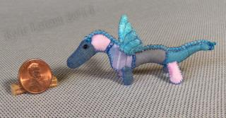 mini patchwork dragon No1