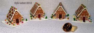 2012 gingerbread house series