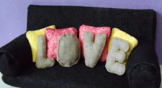miniature love pillow Set