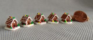 quarter scale gingerbread houses