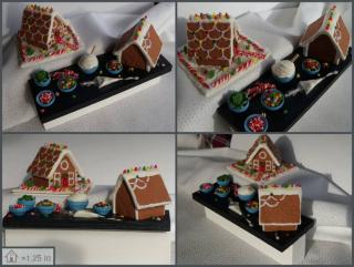 gingerbread house prep board