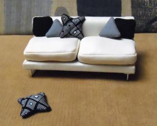 Black & Gray Shape Pillows