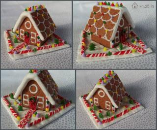 gingerbread house no.1