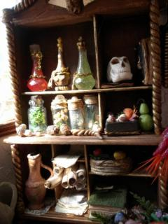Alchemy Shelf