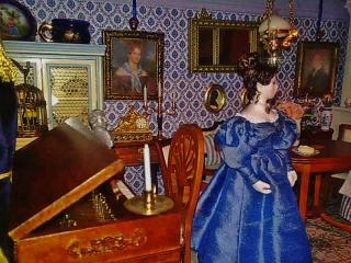 Biedermeier parlor updated