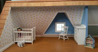 nursery in the attic
