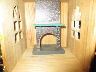fireplace candle holder from Michael's