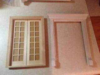 New unfinished French door