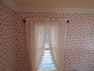 Red Curtain Rods