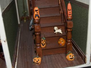 Punkins on the stairs!