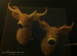 Version Two Deer Mounts