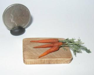 Carrots In Polymer Clay