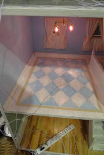 The Shabby Chic Bedroom Painted Floor