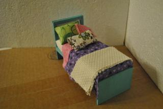 Made from scratch Tween Bed