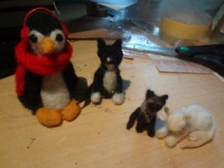 17 Experiments In needle felting