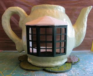 Mrs. Rabbit's Teapot