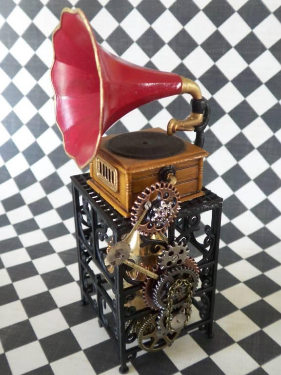 Captain Morin's Steampunk Muses bring you The Phonograph.