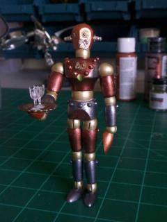 Steampunk Robot, front
