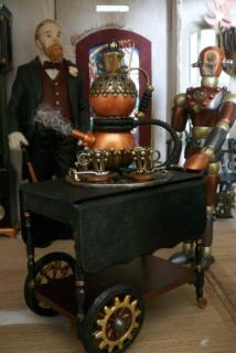 Have a little tea with your steampunk....
