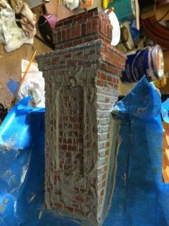Chimney Bricks Mortaring Process