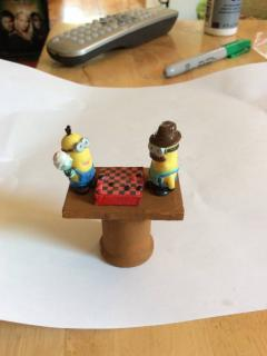 Minions love checkers