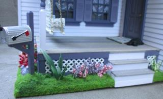 Twilight Porch Vignette (half scale)