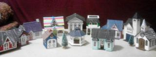 two completed Greenleaf Village/Town