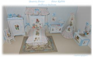 3167** Beatrix Potter bedroom/nursery set