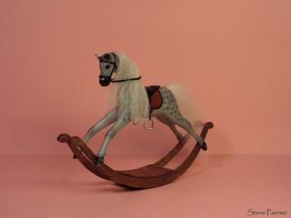 Dapple Gray Rocking Horse