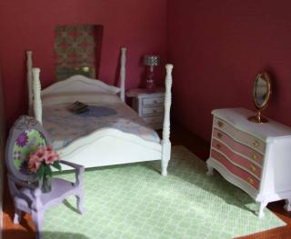 real dollhouse bedroom