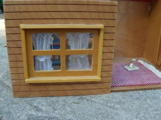 cabin dollhouse Window