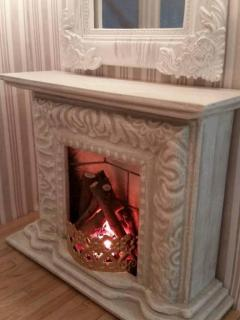 Picture Frame Fireplace