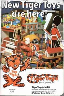 1979 British Toy & Hobby Fair Directory Tiger Toys Ad