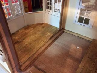 Downstairs flooring