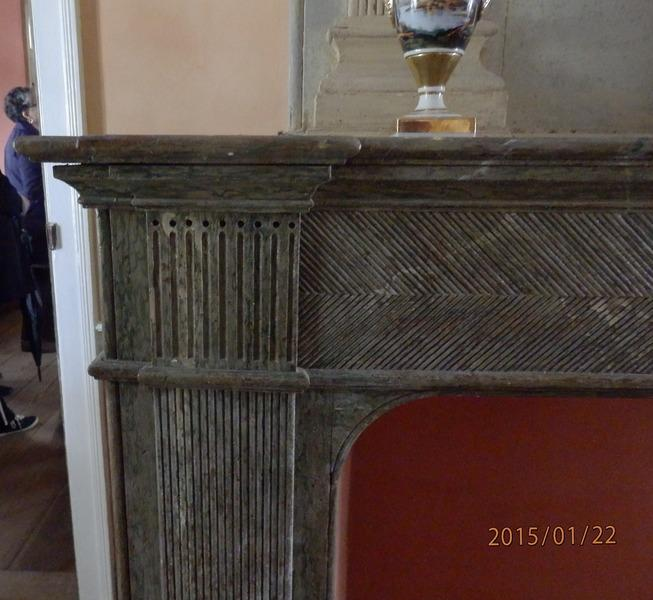 Whitney Plantation Mantel Detail
