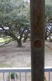 Whitney Plantation Faux Marble Pillar