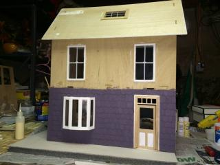 Front with paint and front door i will be using
