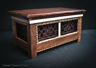 1/12TH Cassone / Marriage Chest.