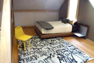 Bedroom with Yellow Chair
