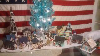 A Greenleaf Christmas Village