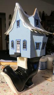 1/4 Scale Winter Witch House