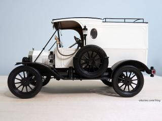 1913 Model T Van, completed