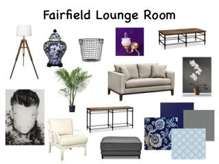 Moodboard for my Fairfield lounge room