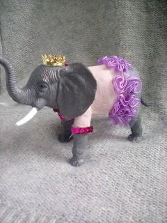 Princess Peanut the Elephant