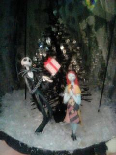 close up of jack and sally