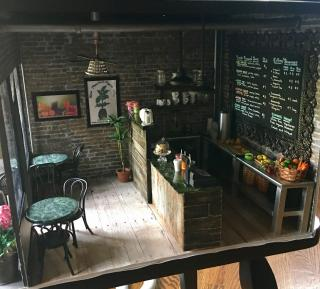 Interior shot of Juice Bar