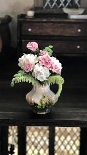 Bouquet in pitcher