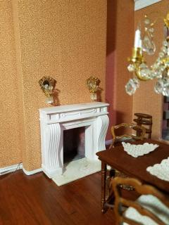 Dining Room Fireplace now nearly done
