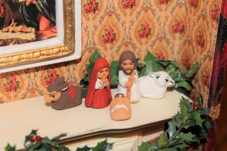 Teeny Nativity set!