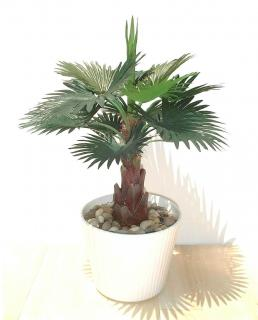 13 inch artifical fan palm